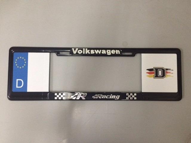 Marco Porta Placas Europeo Volkswagen Vario Diseñ 504-10023 ...