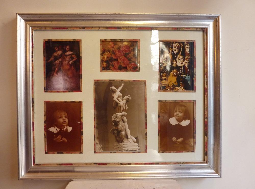 Marco Porta Retrato - Collage 6 Fotos !! - $ 950,00 en Mercado Libre