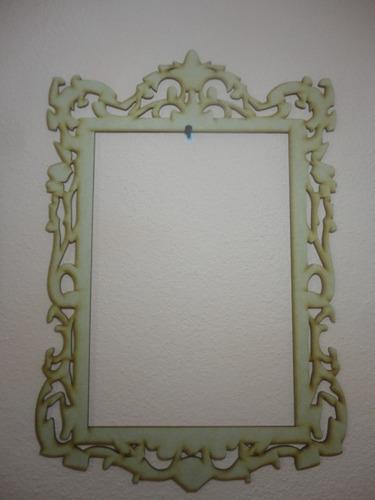 marco porta retratos vintage mdf para fotos o decoracion a2