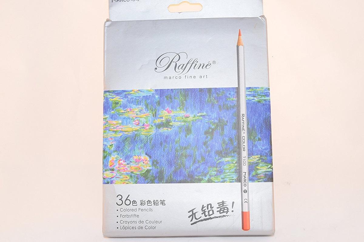 Marco Raffine 36 Color Pencil Set (páginas Para Colorear ...