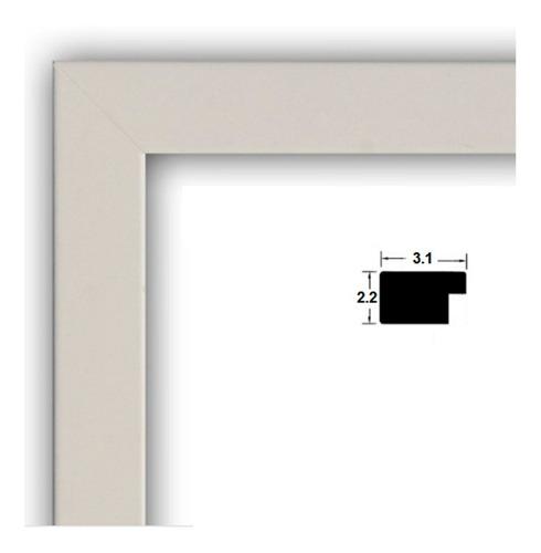 marco rectangular de lujo. 20x24 moldura poliuretano.foto.