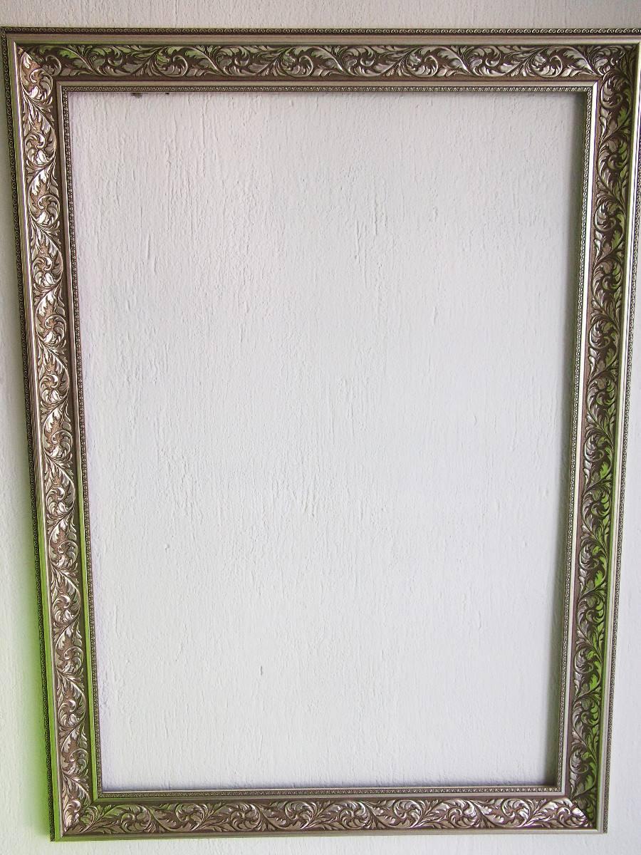 Marco rustico para espejo o pintura cuadro rustico 60 x for Espejo 60 x 120