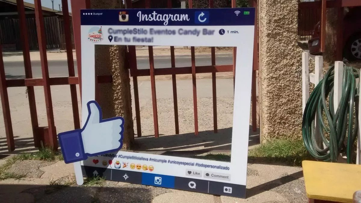 Marco Selfie - Instagram - Facebook- Y Tematicos - $ 15.000 en ...