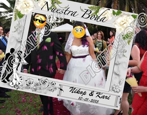 marco selfie trabajos especiales matrimonios e igualitarios