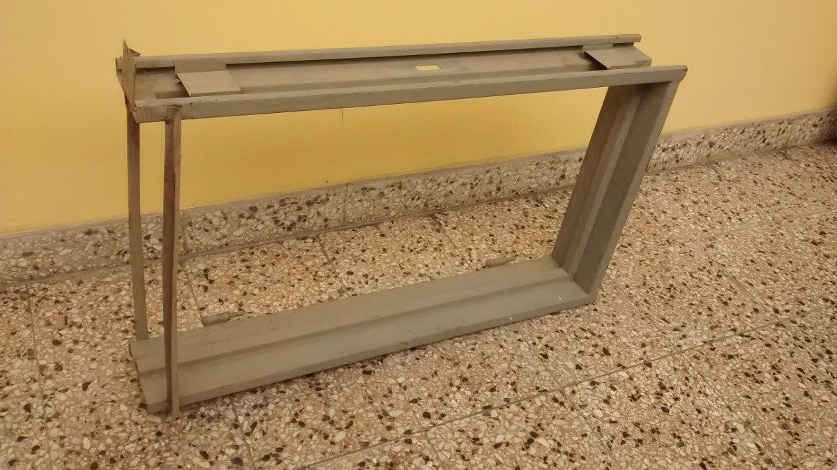 Marco Ventana Hierro Nuevo 43x75cm Aprox. - $ 500,00 en Mercado Libre
