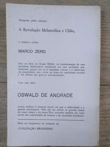 marco zero/chão  oswald de andrade