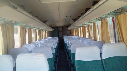 marcopolo , 46 asientos con baño, m.benz o 500 2007