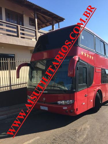 marcopolo dd 1800 scania ônibus de banda confira!! ref.352