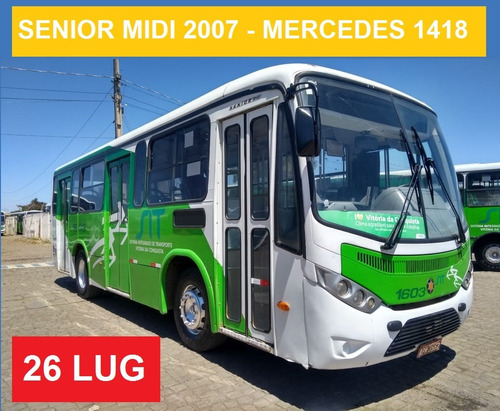 marcopolo senior midi - 2007 - mercedes benz of 1418