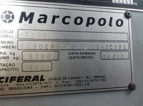 marcopolo torino ano 2008 mercedes of 1722 46 lugares