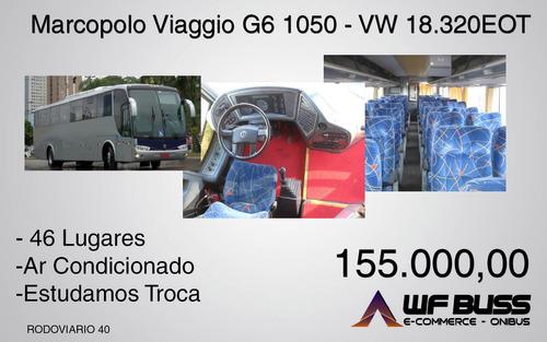 marcopolo viaggio g6 1050 - vw 18.320eo