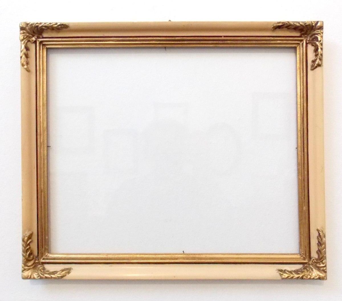 Marcos antiguo foto cuadro espejo 35x29 550 00 en - Marcos de cuadros para fotos ...