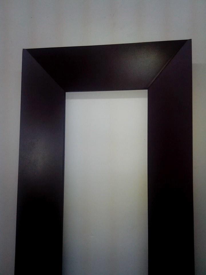 Marcos con espejo chocolate mate    600.00 en mercado libre