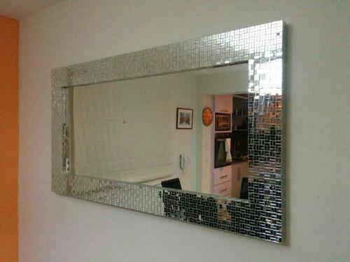 Marcos con espejos decorados vitromosaico bs for Espejos con marcos decorativos