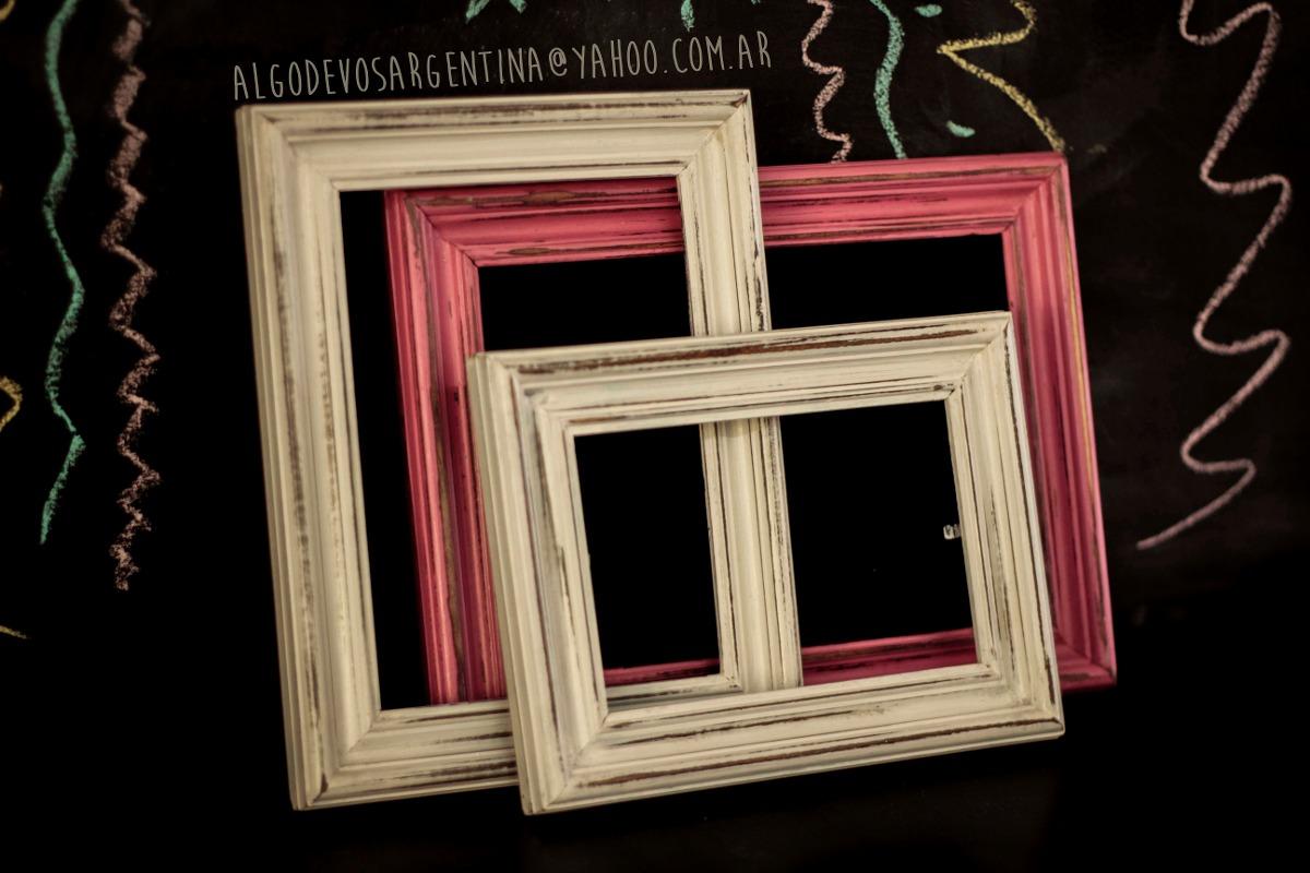 Marcos De Madera Vintage 13x18 Cm Varilla Italiana - $ 135,52 en ...