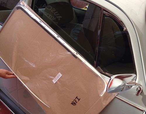 marcos de puerta originales 72-1995  vocho aluminio par
