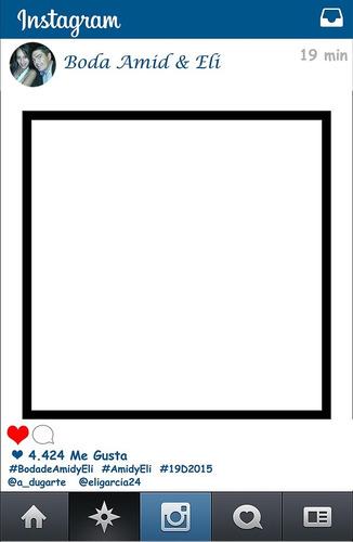 marcos facebook, instagram,whasap,props,habladores