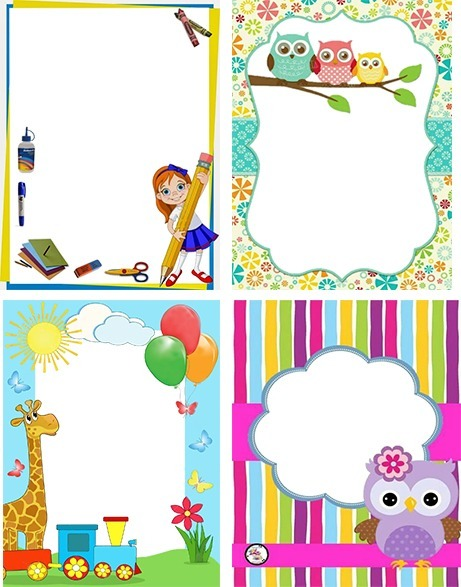 marcos infantiles para fotos en formato png bs en mercado libre. Black Bedroom Furniture Sets. Home Design Ideas