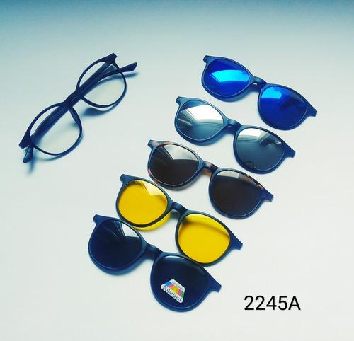 marcos lentes armazon 6 en 1 marcos + gafas tr90