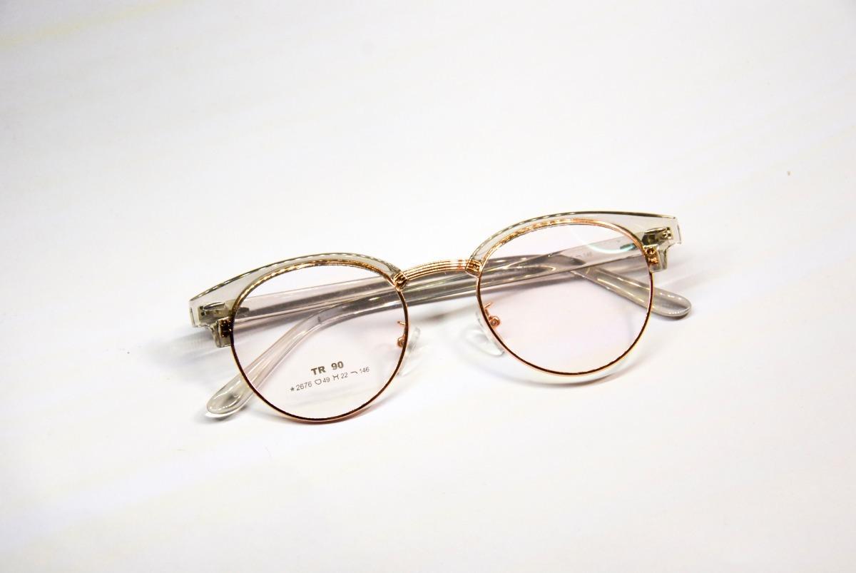 a3010e9430 Marcos Lentes De Super Diseño Moda Importados Gafas Cr10 - $ 725,00 ...