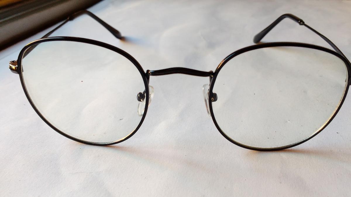 02137084c3 marcos lentes ópticos round metal black negros redondos 50mm. Cargando zoom.
