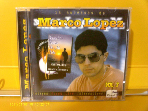marcos lopes - cd
