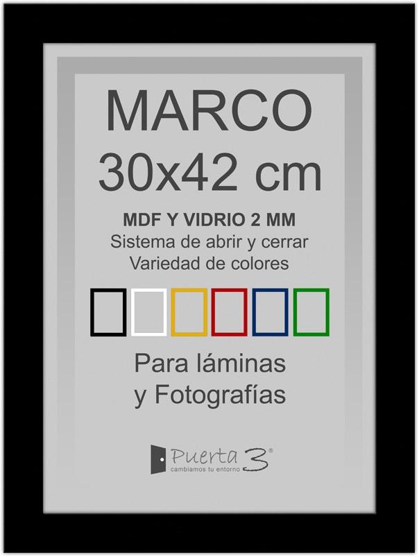 Marcos Mdf Para Fotos Y Láminas A3 (30x42cm) Varios Colores - $ 550 ...