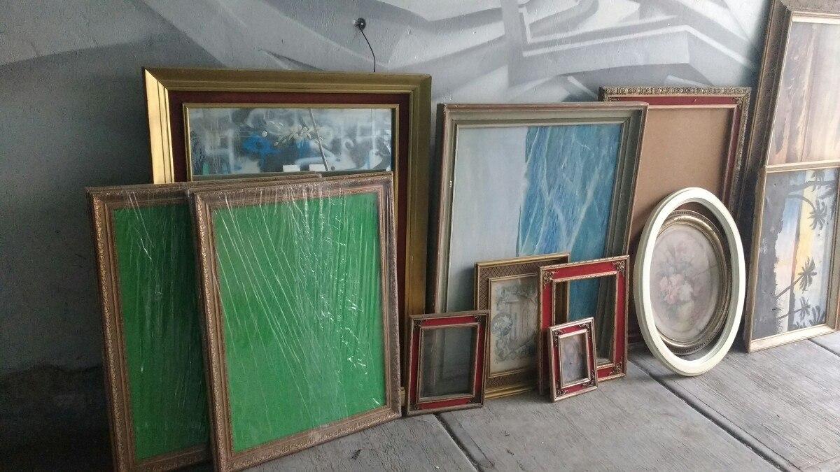 Marcos Para Cuadros Antiguos Vintage En Mercado