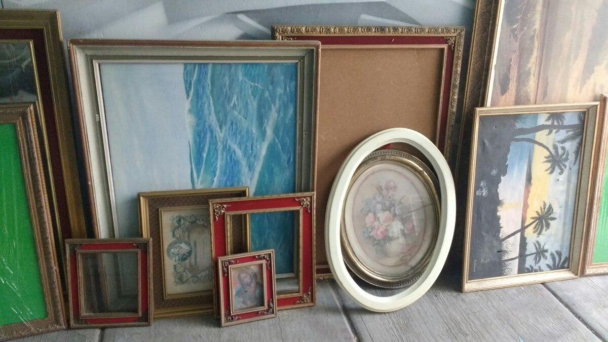Marcos para cuadros antiguos vintage en mercado - Marcos de cuadros vintage ...