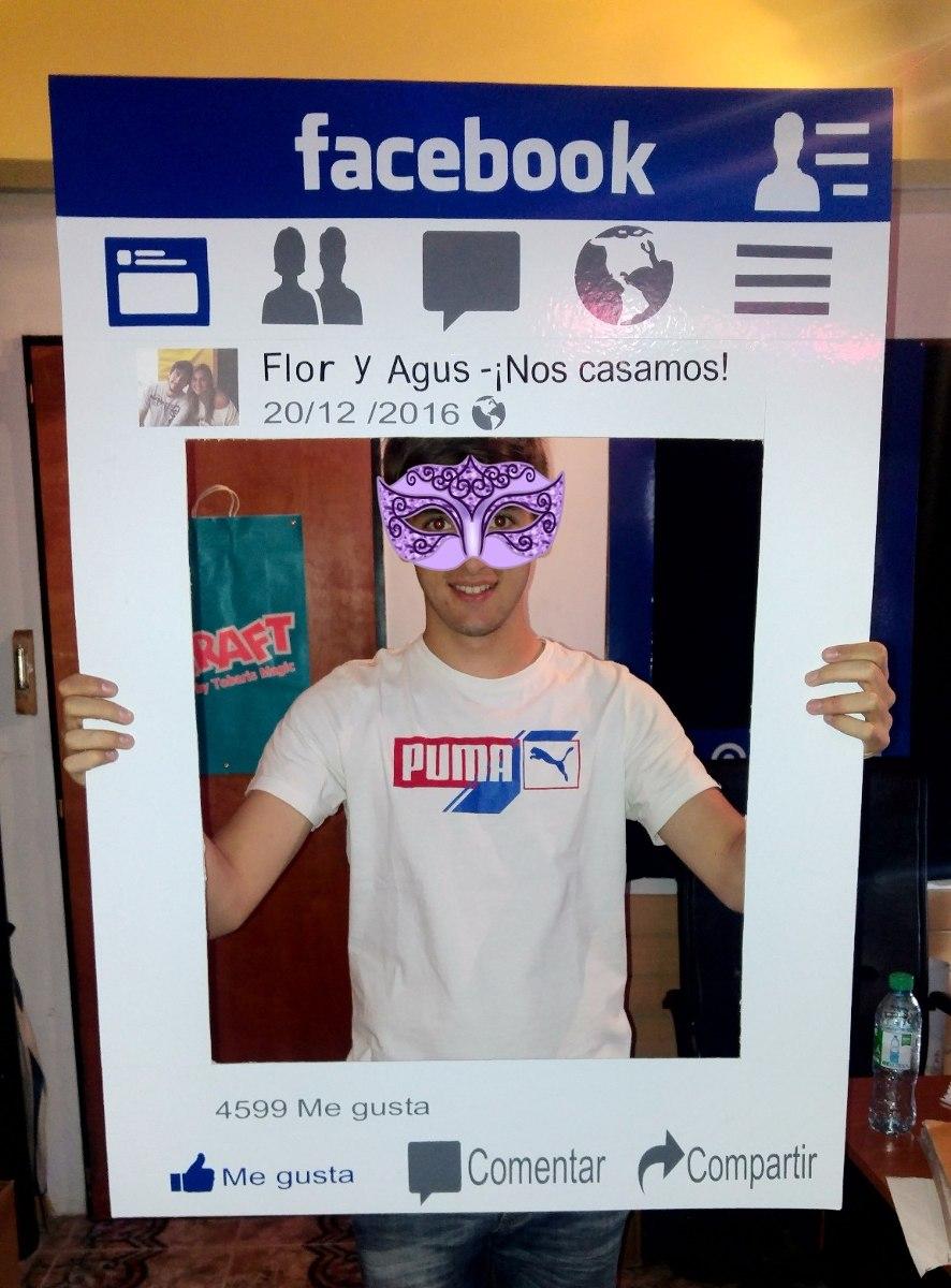 Marcos Para Fiestas, Instagram, Facebook. 100cm X 70cm - $ 450,00 en ...