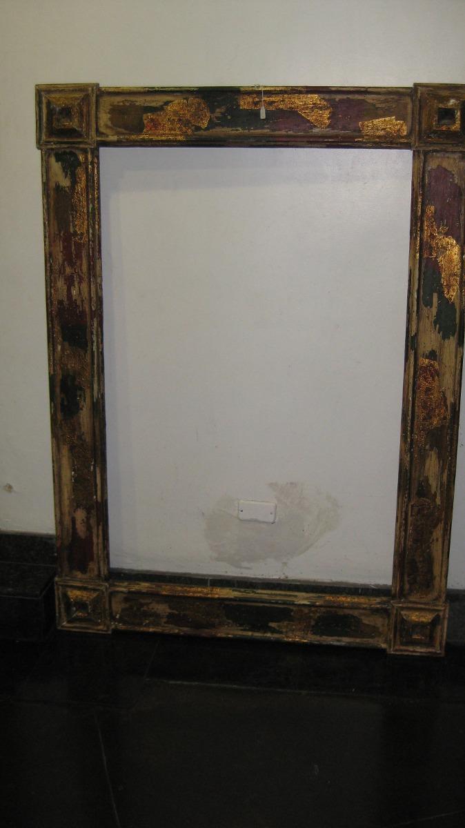 Marcos Para Pintura Espejo Hojillados Y Tallados Importados Bs  # Muebles Hojillados