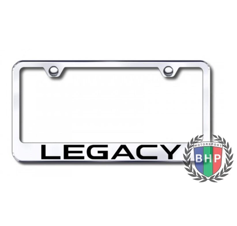 Marcos Para Placa Honda Legacy De Acero Inoxidable Cromado