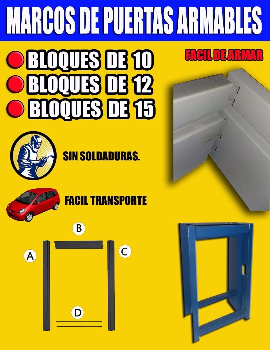 marcos para puertas armables