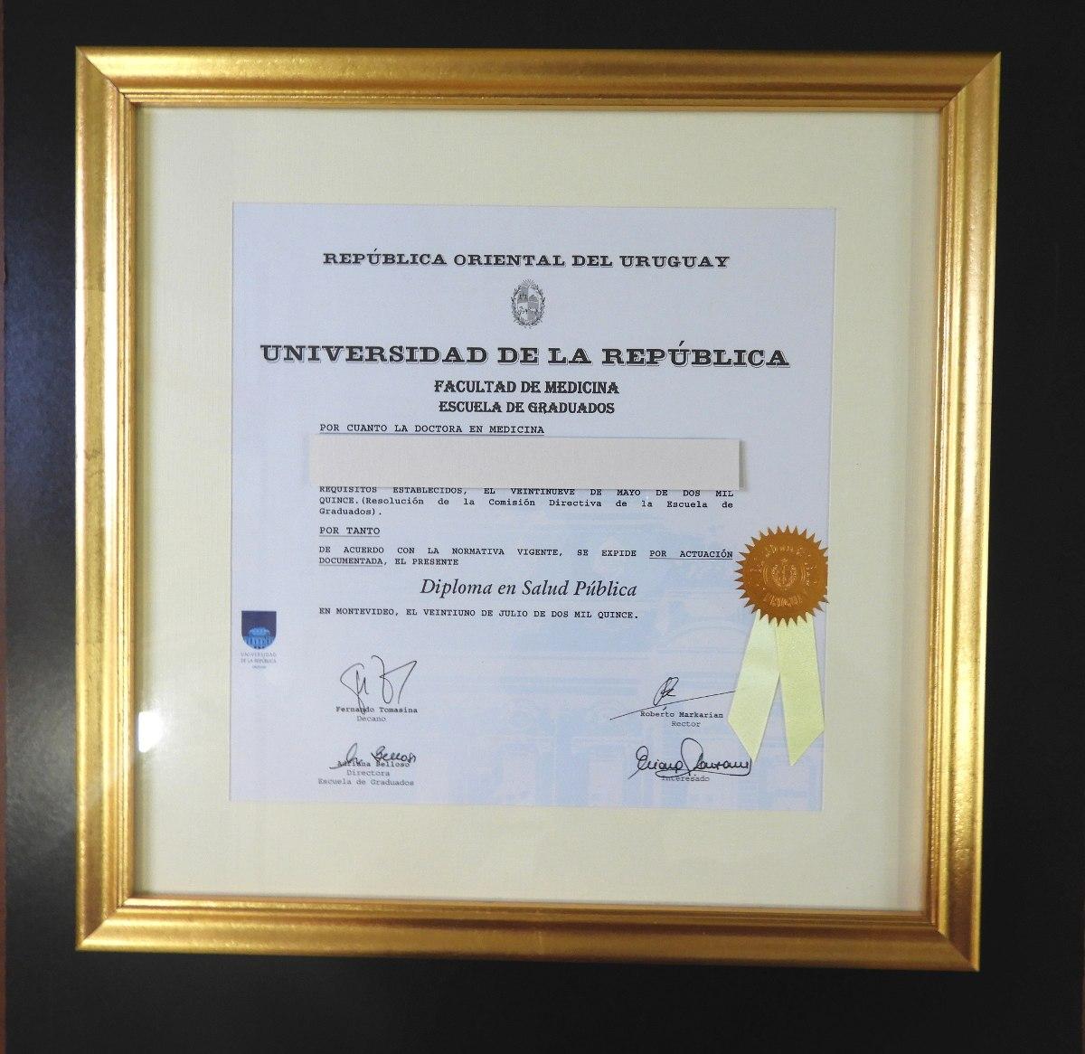 Único Marcos De Diploma De La Universidad Motivo - Ideas ...