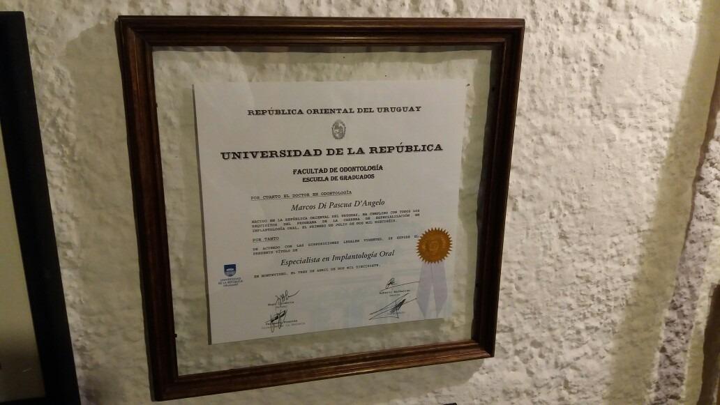 Marcos P/diplomas Encuadre Montado En El Aire C/vidriodoble - $ 690 ...