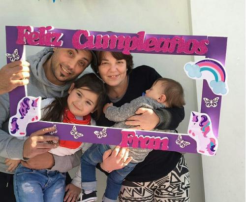marcos unicornios  tematicos infantiles para selfie