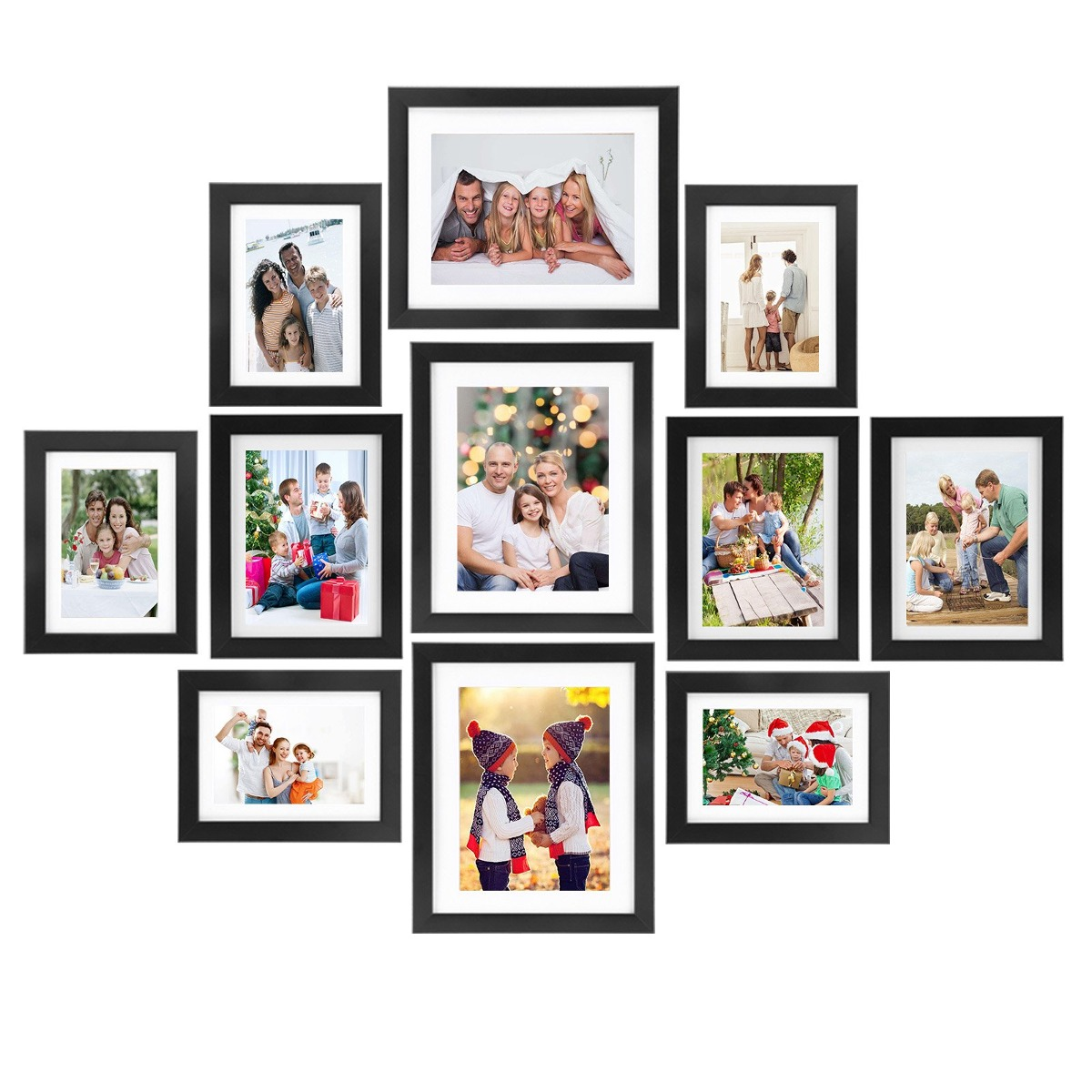Marcos Voilamart Set De 11 Multi Pack Photo Frame Set W ...