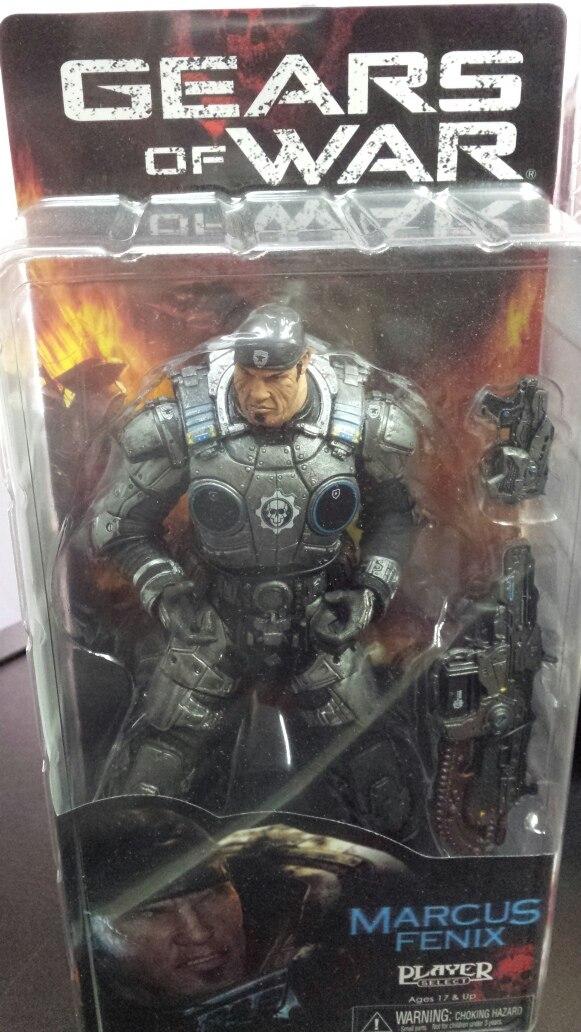 Marcus Fenix Gears Of War Neca Serie 1 Raro Original 7