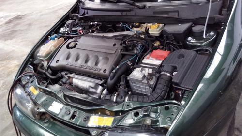marea turbo 2001 - motor novo do coupé turbo com 250cv