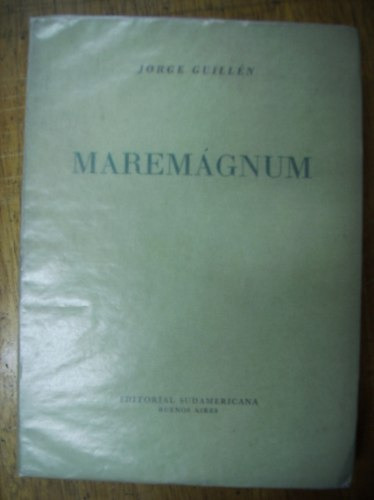 maremágnum - jorge guillén