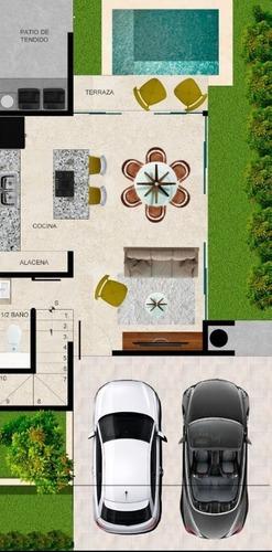 marenta - casas en venta en mérida con piscina o roof garden