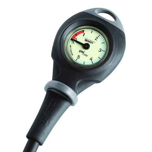 mares consola mission 1 manómetro medidor de presión buceo
