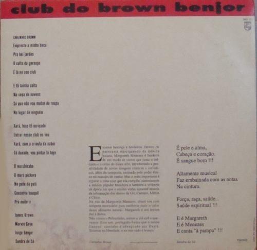 margareth menezes  12 single promo  club do brown benjor