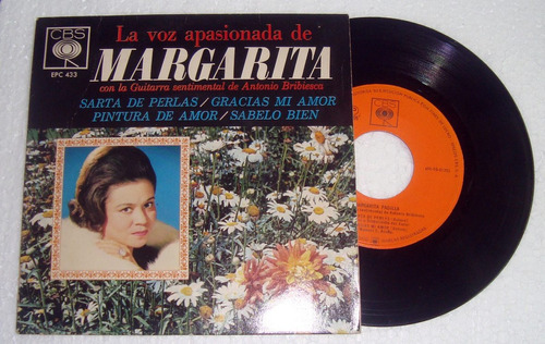 margarita la voz apasionada  simple c/tapa mexicano