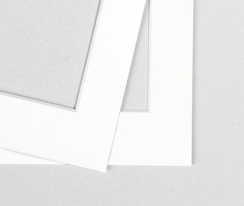 margem de papel passepartout branco 80x100cm *somente*retira