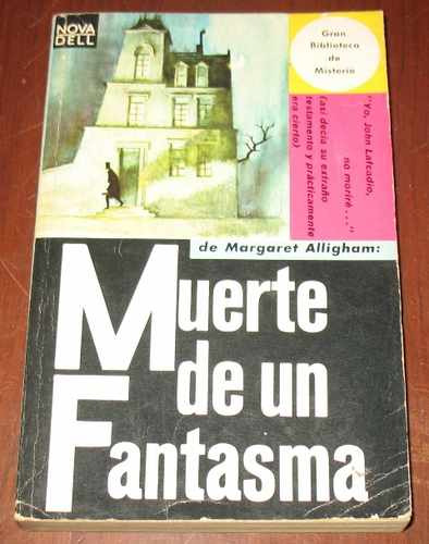 margery alligham : muerte de un fantasma - novela misterio