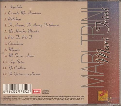 mari trini  - cd nuevo original - un tesoro músical