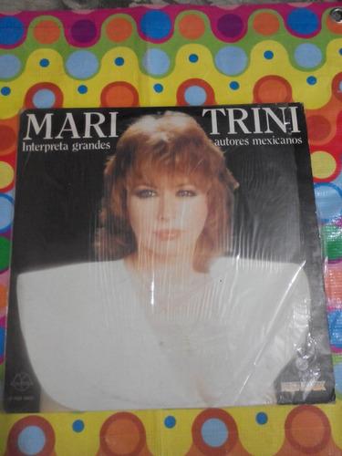 mari trini lp autores mexicanos 1984