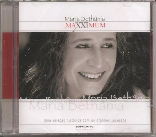 maria bethânia - maxximum - - cd lacrado novo