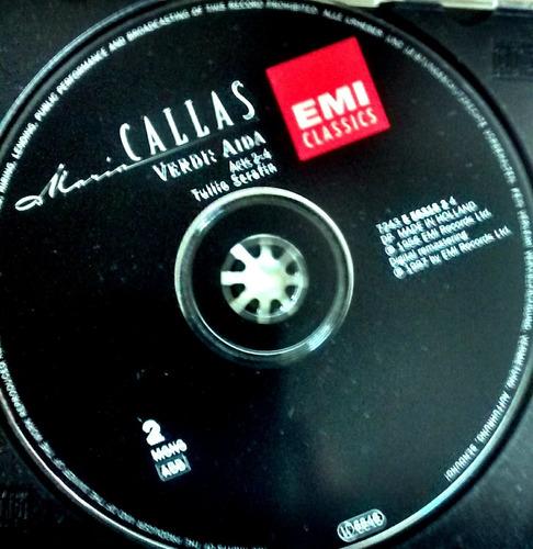 maria callas 1956 1997 2 cd´s verdi: aida holland
